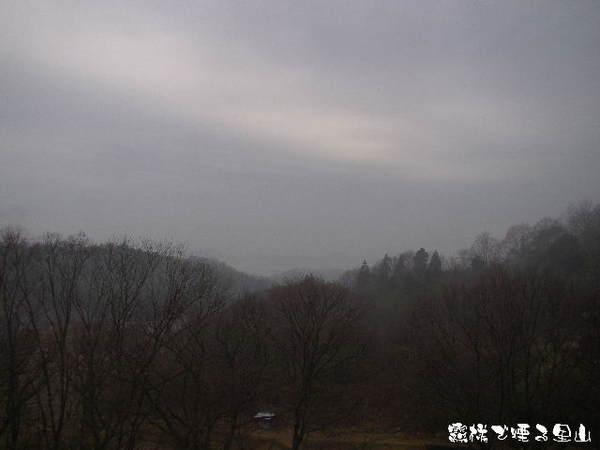 2014-03・18 霧雨に煙る里山.jpg